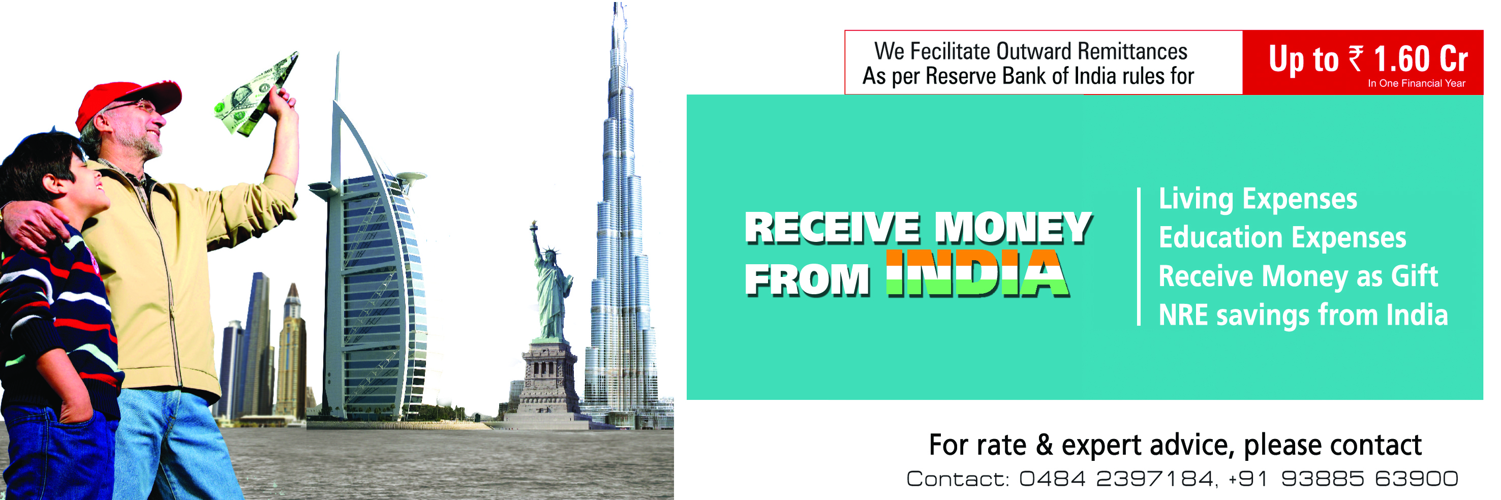 Transfer money to india from UK
